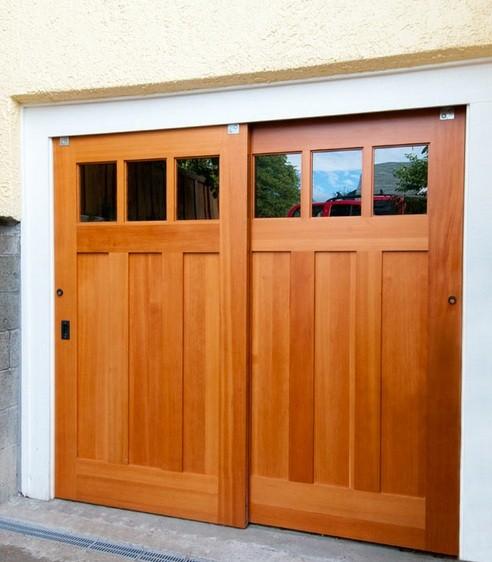 Barn Door Garage Doors And Accessories Required Home