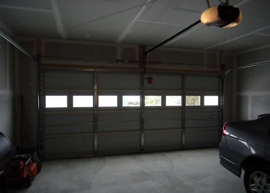 Open Garage Garage Door Opener Adams