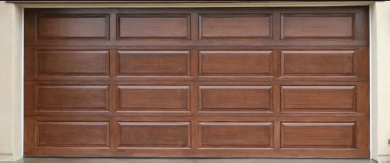 wood garage door panelsWooden garage door with 4 section 4 panel model  Home Interiors