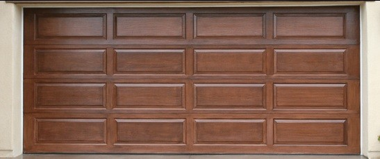 Wooden Garage Door Panels Style And Options Home Interiors
