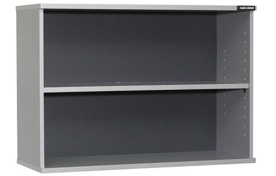 Black U0026 Decker Open Shelf Wall Cabinet