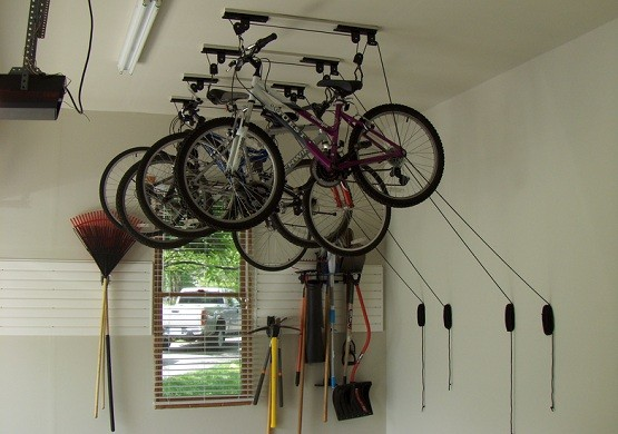 The Idea of Bicycle Garage Storage