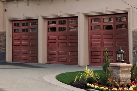 Fiberglass Garage Doors Look Like Wood Home Interiors