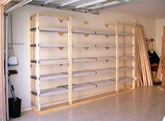 Garage Shelves Plans Step By Step Instructions To Create