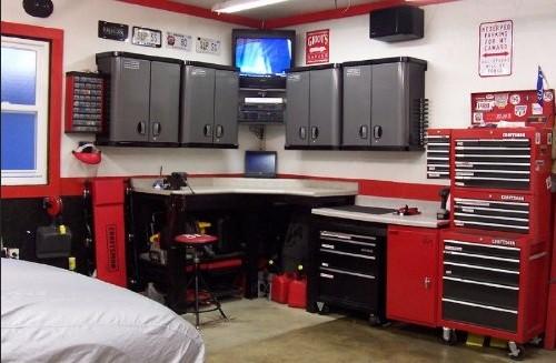 Garage organization plans make your garage more storage room home interiors - Garage design ideas ...