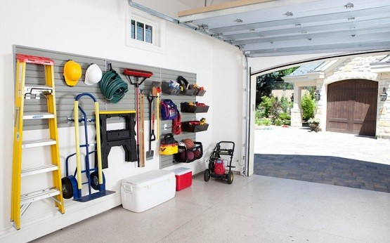 Hanging Organization Ideas For Garage Home Interiors