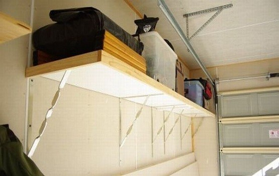 Overhead Garage Storage Racks To Overcome The Clutter