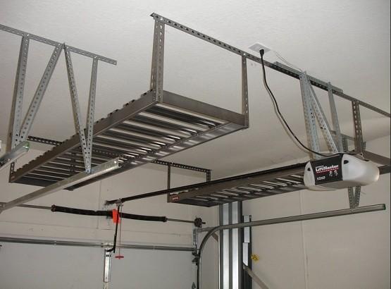 monkey a racks storage garage bar bars steel shelving