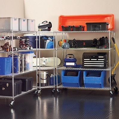 Garage Shelves Plans – Step by Step instructions to Create ...