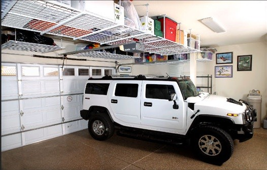 Garage overhead storage ideas to add more space on your for Occasions garage ligot arnage