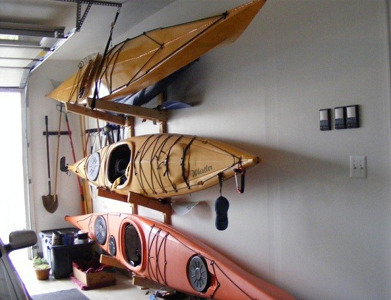 How To Create Kayak Garage Storage