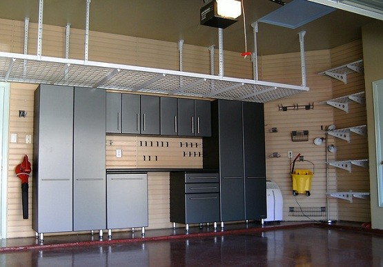 Garage Ceiling Storage Systems As An Alternative To Extra