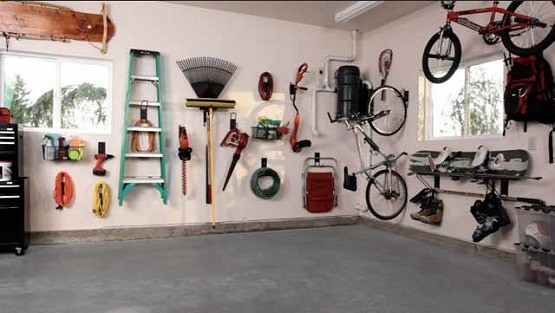 Garage Storage Hooks To Neatness The Garage Home Interiors