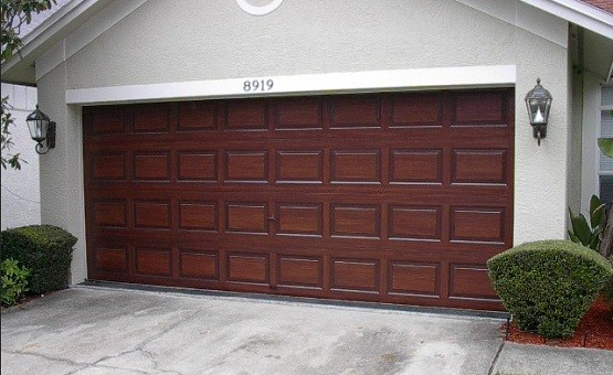 wood look garage doors options and benefits home interiors