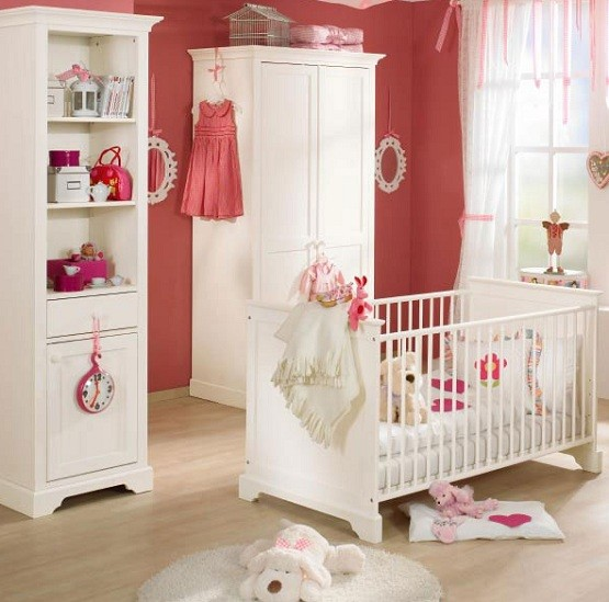Beautiful white furniture sets for kids