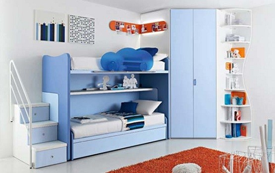 Beautiful Kids Bedroom Sets For Boys Make It More Colorful Home Interiors With Kids Bedroom Sets