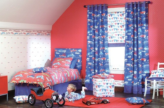 kids bedroom sets for boys make it more colorful cute kid curtain