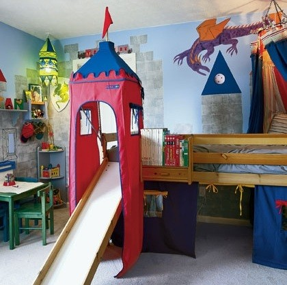 Kids Bedroom Paint Ideas For Boy Or Girl Bedrooms » Kids Castle Bedroom  Paint For Boy