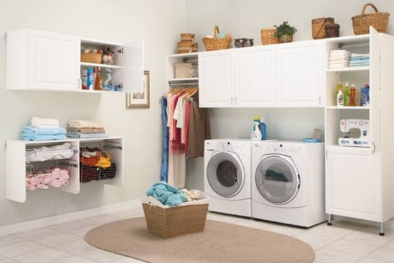 2 Ideas For The Laundry Room Storage Solutions