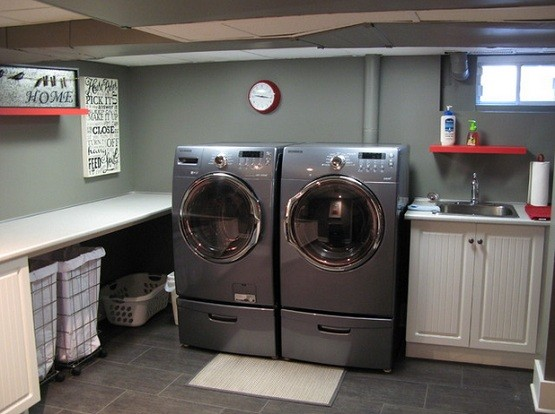 Basement Laundry Room Interior Remodel Basement Laundry Room Ideas Washing In The Basement Isn T Too