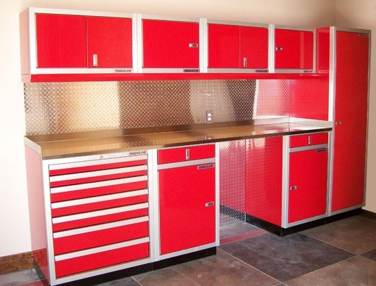 red garage cabinets metal garage storage cabinets offer the durability and 25171