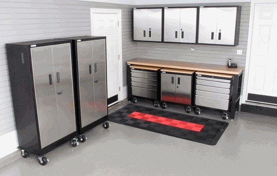 metal garage storage cabinets. metal garage storage cabinets offer the durability and sturdy protection » set of t