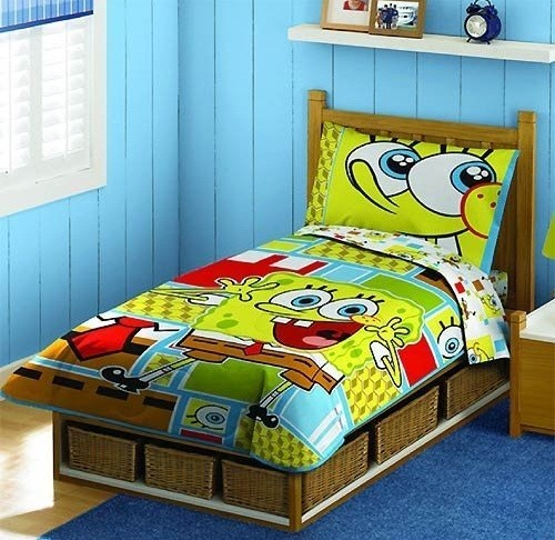 kids bedroom sets for boys make it more colorful home 19968 | spongebob bedroom sets