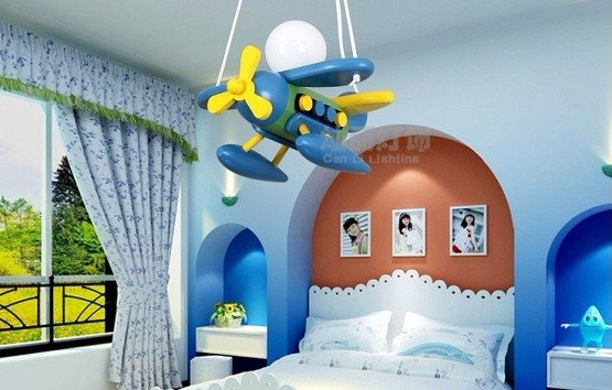 Aircraft bedroom lamp for kids bedroom accessories