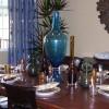 Beautiful arrangement centerpiece dining room table