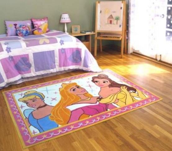 Cinderella rug - beautiful accessories for kid bedroom