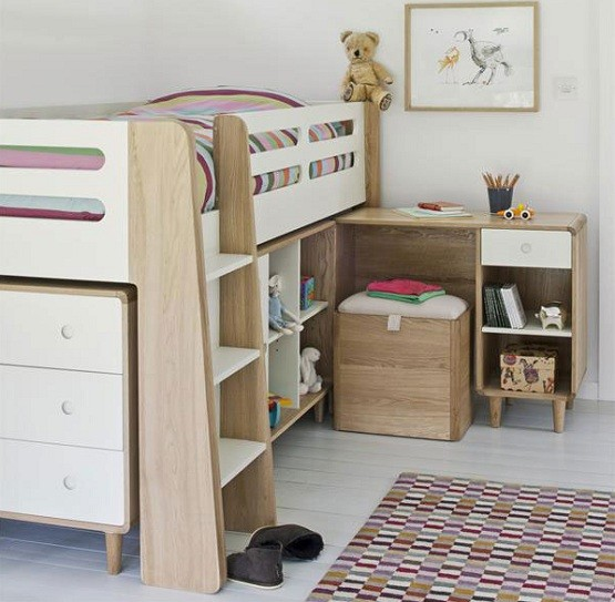 Children Beds With Storage Show You Many Functions, Benefits And Designs »  Elegant Single Children Beds Frames With Storage