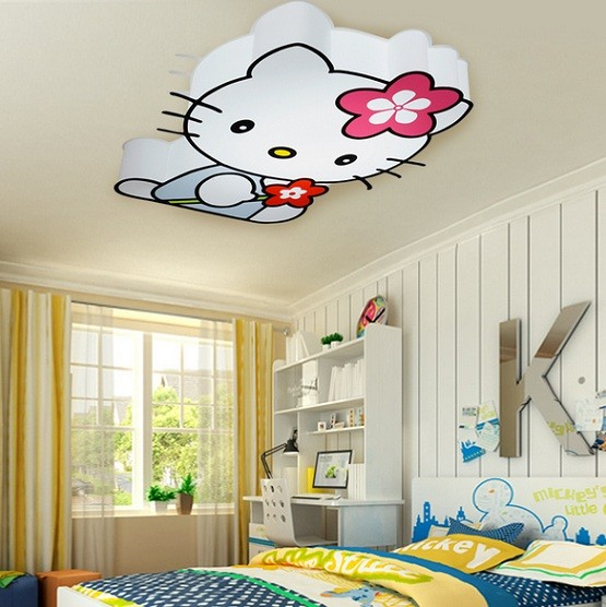 Kids Bedroom Accessories Should Be Available Hello Kitty Cat Lamp