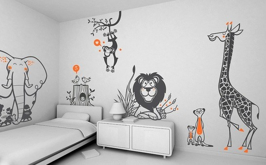 should be available jungle friends wall stickers for kids bedroom