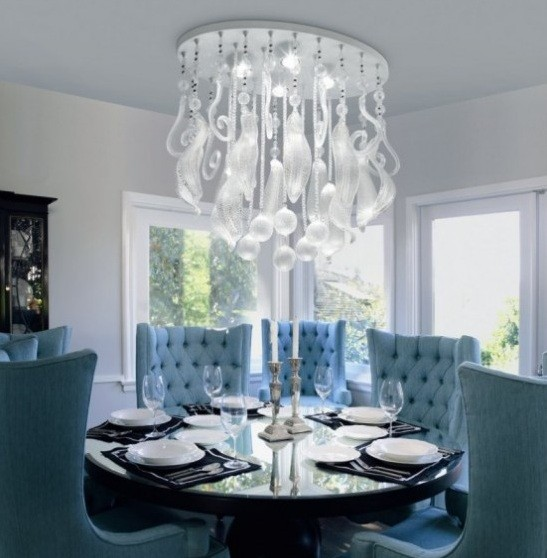 Modern Chandeliers Contemporary Dining Room: Dining Room Lighting Ideas And The Arrangement Tips