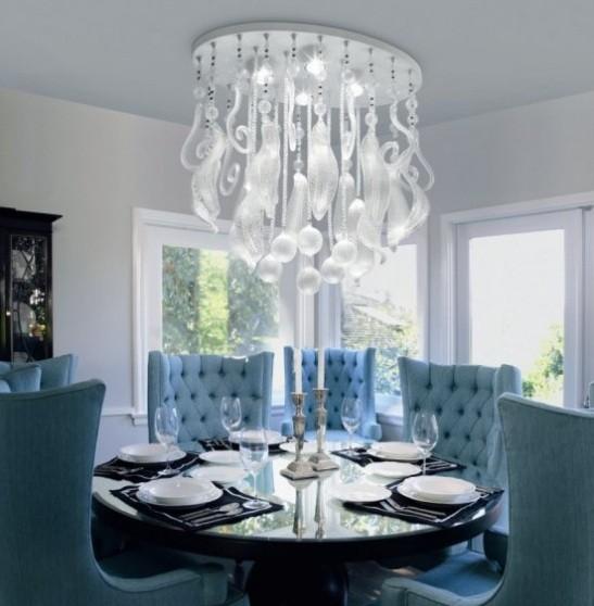 Dining Room Lighting Designs: Modern Ceiling Dining Room Lights