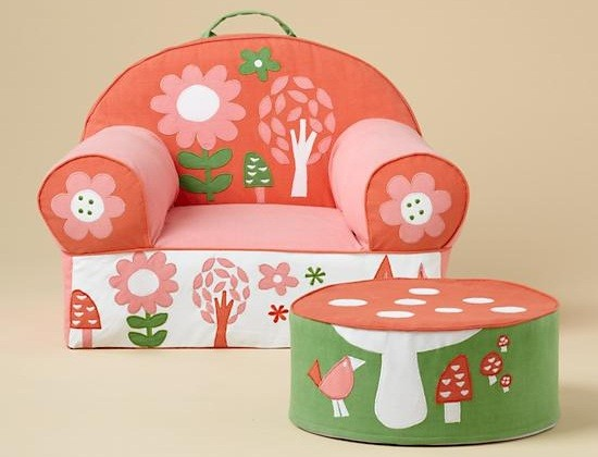 Gentil Why Personalized Kids Chairs Are Recommended? » Personalized Kids Chairs  Soft U2013 Flower Motifs