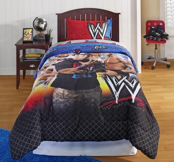 Smackdown bedding sets for kids
