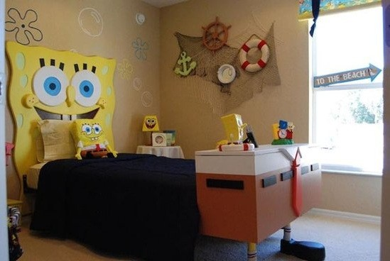 5 kids bedroom decorations with funny and cute impression Funny bedroom