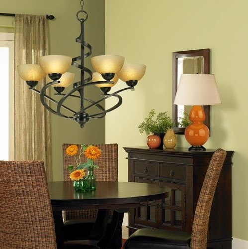 Chic Home Lighting Ideas: Dining Room Lighting Ideas And The Arrangement Tips