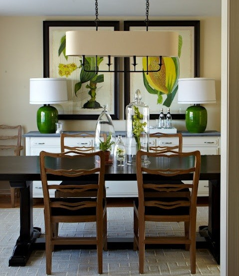 Dining Room Buffet Decorating Ideas: Dining Room Lighting Ideas And The Arrangement Tips