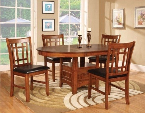 The Beauty Of Round Dining Room Table With Leaf / Leaves » Round Dining  Table U0026 4 Chairs With 18 Inch Leaf