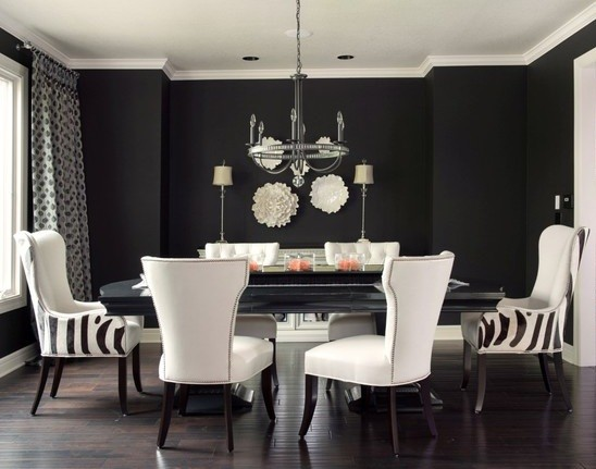 Black Painted Room Ideas black painted rooms - home design