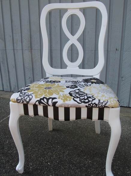 fun dining room chairs | The Ways of Painting to Make Unique Dining Room Chairs ...