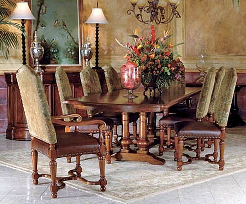 Types Of Tuscan Dining Room Furniture Home Interiors