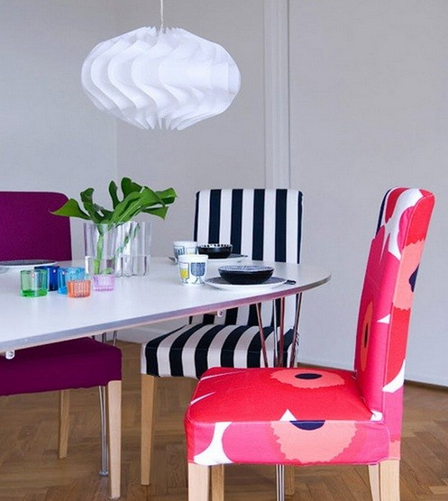 Cool Dining Room Chairs: The Ways Of Painting To Make Unique Dining Room Chairs