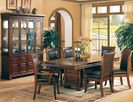 Westminster trestle dining room table