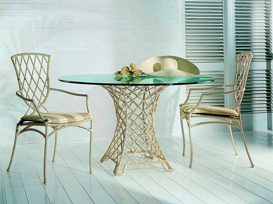 making your own dining room table   How To Make Your Own Round Glass Dining Room Table   Home ...