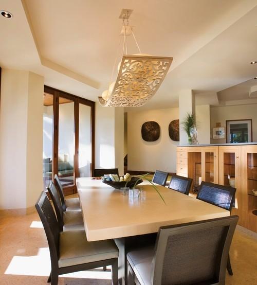Corbett Lighting For Contemporary Dining Room