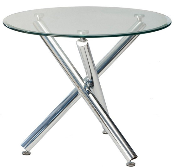 round glass top dining table with chrome legs home interiors