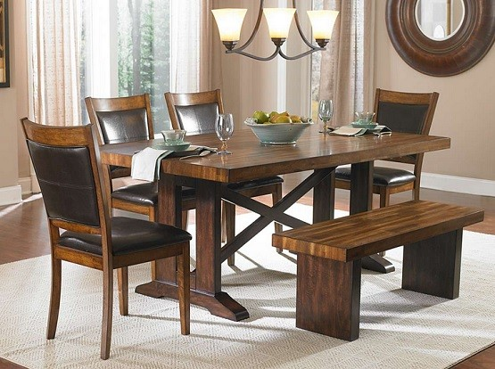 Most Beautiful Dining Tables some ideas of dining room table with benches | home interiors
